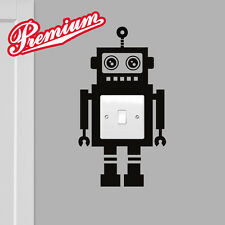 Robot Love Banksy Light Switch Wall Sticker Funny Home Art Vinyl Decal Decor