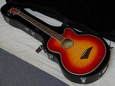 DEAN Performer Acoustic Electric BASS guitar NEW Cherry Sunburst w/ DEAN CASE