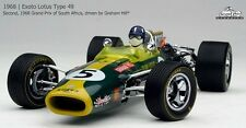 Lotus 49 #5, Hill 2nd 1968 South African GP F1, Exoto GPC97003  Diecast  1/18