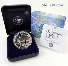 2005 ANTARCTIC SERIES  LEOPARD SEAL  Silver Proof Coin