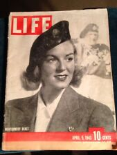 1943 April 5 LIFE Magazine -Montgomery Beret, Germans Guard English Channel,WWII