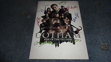 "GOTHAM : RISE OF VILLAINS CASTX8 PP SIGNED 12""X8"" A4 PHOTO POSTER BEN MCKENZIE"