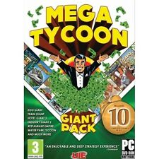 Mega Tycoon Compilation PC Game PC 100% Brand New