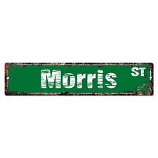 SMNS0278 MORRIS Street Chic Sign Home Man Cave Wall Decor Birthday Gift