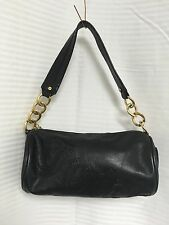 Juicy Couture small black leather purse with charms