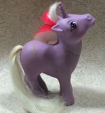 Vintage My Little Pony Powder G1 Unicorn 1984 Snowflakes Flawed Needs TLC