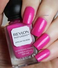 NEW! Revlon Parfumerie Nail Polish Lacquer in AFRICAN TEA ROSE ~ PINK