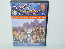 "*****DVD-VARIOUS ARTISTS""MELODIEN DER BERGE-Folge 3""-MCP Sound & Media*****"