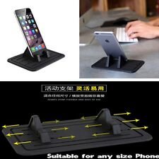 Car Mount Holder Cradle Dock For Phone iPhone Samsung Glasses Silicon Pad Dash