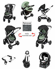 CHICCO SUMMER NATURE SPECIAL EDITION URBAN TRAVEL SYSTEM PUSHCHAIR BABY CAR SEAT