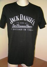 JACK DANIEL'S & ZAC BROWN BAND T SHIRT Together on Tour Men's XL Ex Large   NEW