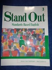 Stand Out 3: Standards-Based English (Student Book) Staci Lyn Sabbagh, Rob Jenk