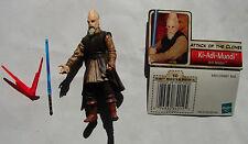 Star Wars SAGA AOTC Ki Adi Mundi Jedi knight complete  w acc  figure E II   1015
