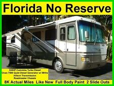 NO RESERVE 2002 MONACO DIPLOMAT 40FT 330HP CUMMINS DIESEL 2 SLIDES RV MOTORHOME