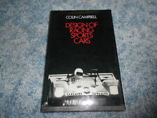 DESIGN of RACING SPORTS CARS by CAMPBELL : USED BOOK