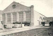 Goossen & Lochner Brand  Aachen Reklame & Historie 1925 Waggon Autobau BMW Motor