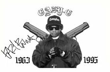 EAZY-E AUTOGRAPHED SIGNED A4 PP POSTER PHOTO