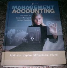 Management Accounting Information for Decision Making and Strategy Execution 6th