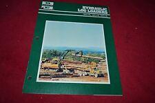 Bucyrus Erie 300HL 325HL 350HL Log Loader Excavator Dealers Brochure DCPA2
