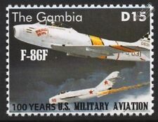 North American F-86 / F-86F SABRE US Militiary Aviation Fighter Aircraft Stamp