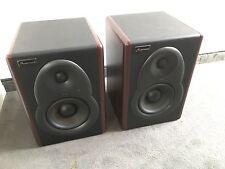 2 x Studiomaster M5B aktive Studiominitore (1 Paar = 2 Stück im Set) top Zustand