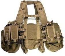 Devgru Navy Seal NSW LB 1195J Tactical Chest Rig H Harness Vest Coyote Brown