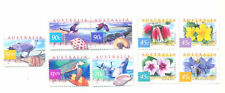 Australia-Fauna & Flora set (1854-1862)Sea Eagle -Turtle-Whales-Flowers mnh