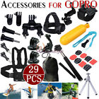 Head Chest Pole Floating Accessories Set Combo For GoPro HD Hero 1 2 3 4 Session