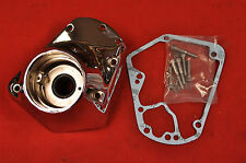NEW 1973-92 Harley Big Twin Chrome Cam Gear Cover, Shovelhead Evo FLH FX
