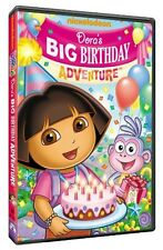 Dora the Explorer: Dora's Big Birthday Adventure [Pop-U (2010, REGION 1 DVD New)
