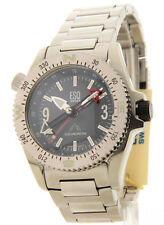 073011231 Mens ESQ Squadron Compass Stainless Steel Sport Watch
