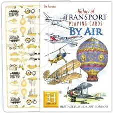 Playing Cards By Air: Plane Aeroplane Jet Helicopter Concorde Balloon Glider 707