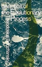 Genetics of the Evolutionary Process, Dobzhansky, Theodosius, Acceptable Book