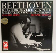 "BEETHOVEN KLAVIERKONZERT NR. 5 CLAUDIO ARRAU BERNARD HAITINK 12"" LP (e666)"