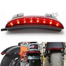 CUSTOM MOTORCYCLE INTEGRATED 8 LED TAILLIGHT TURN SIGNALS BRAKE RUNNING LIGHTS