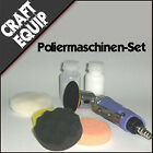 Mini Poliermaschine SET Schwämme Politur Audi Jaguar