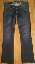 GUESS Jeans Size 26 Women's Junior's Flare Distressed Work School Fall Winter De