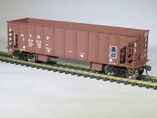MOW TRAINS HO Walthers SANTA FE Ballast Hopper ATSF 76603 Work Train NIOB MWSKC