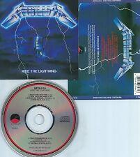 METALLICA-RIDE THE LIGHTNING-84-USA-CD-ELEKTRA/E/M VENTURES 60396-2  RE-1-CD-M-