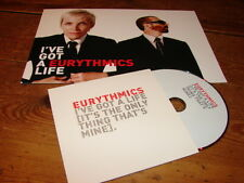 EURYTHMICS - I'VE GOT A LIFE !!RARE FRENCH PRESS PACK