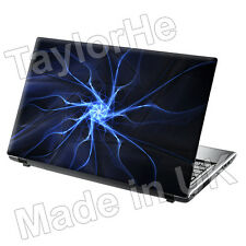 "15.6"" Laptop Skin Cover Sticker Decal Electric Blue 30"
