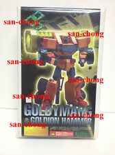 KOTOBUKIYA GAOGAIGAR GOLDYMARG & GOLDION HAMMER resin kit FULL AUCTION
