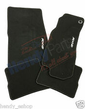 NEW GENUINE MAZDA RX8 BLACK LUXURY DEEP PILE FRONT & REAR CARPET CAR FLOOR MATS