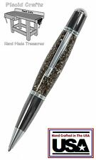 Hand Made Grande Ball Point Pen with a Solid Surface Body & Fisher Ink / #07