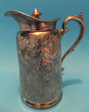 Silver Hallmarked Jug with Lid