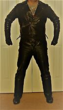 Langlitz Leather Columbia Leather Jacket and Western Leather Pants Suit