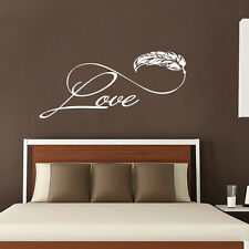 Wall Decals Love Family Sticker Boho Infinity Sign Bedroom Living Room Decal FD7