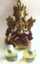 Green Tara Bundle - Statue, Fragrance Oil, Perfume kit_9020