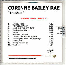 CORINNE BAILEY RAE The Sea UK 11-trk numbered/watermarked promo test CD sealed