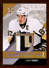 2014/15 SIDNEY CROSBY ULTIMATE COLLECTION GAME USED 3 COLOR PATCH SP / 35